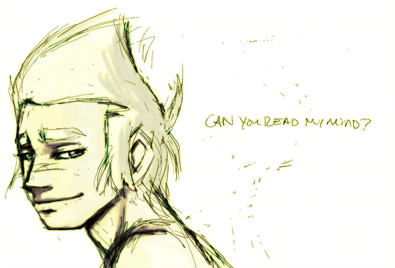 Can you read my mind? by Lepas