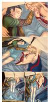 Thor and Loki Snuggle Blanket