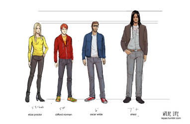 Wilde Life - Height Chart