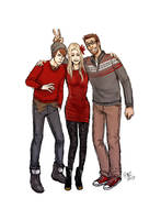 Wilde Life - Xmas Sweater by Lepas
