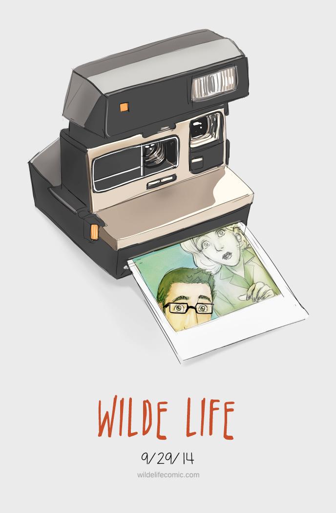 Wilde Life - Polaroid Camera by Lepas