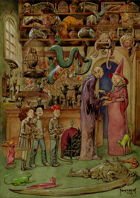 The Magical Menagerie by Dubisch