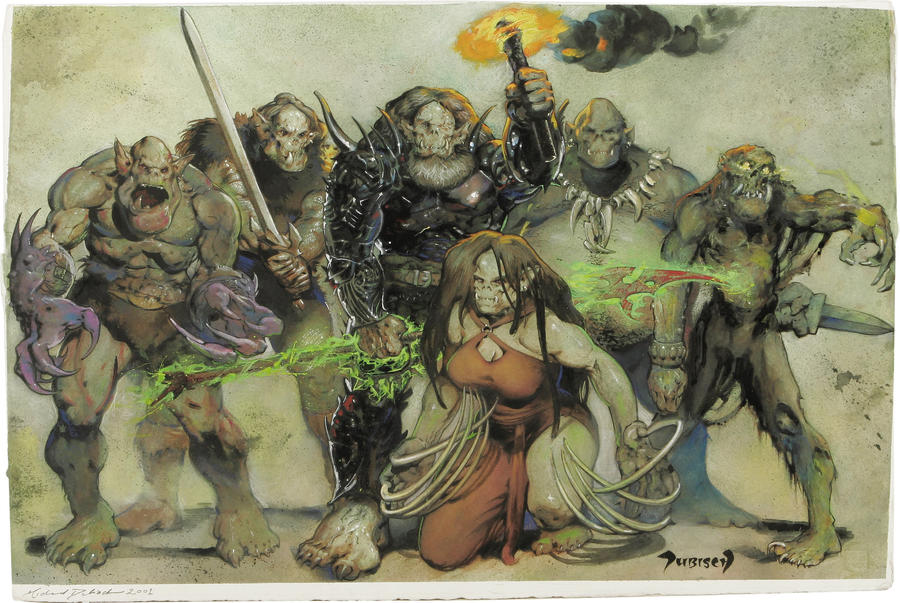Orc Pantheon by Dubisch