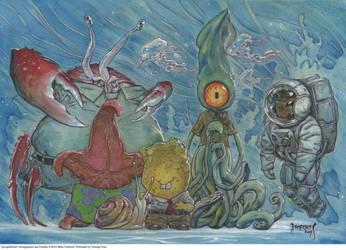 SpongeBob StrangePants by Dubisch