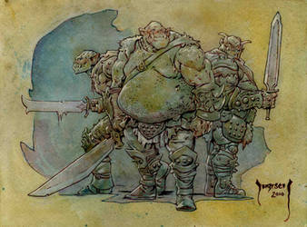 Orcs by Dubisch