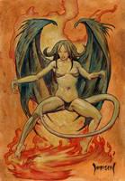 Demon Woman by Dubisch
