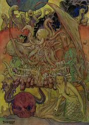 The Necronomicon by Dubisch