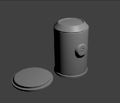 Capsule Model for Project Capsule (Untextured)