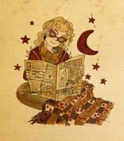 Luna Lovegood by LittleWazabi