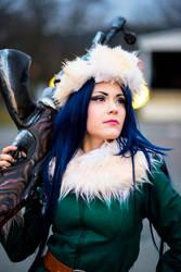 Arctic warfare Caitlyn Cosplay by Nimdra