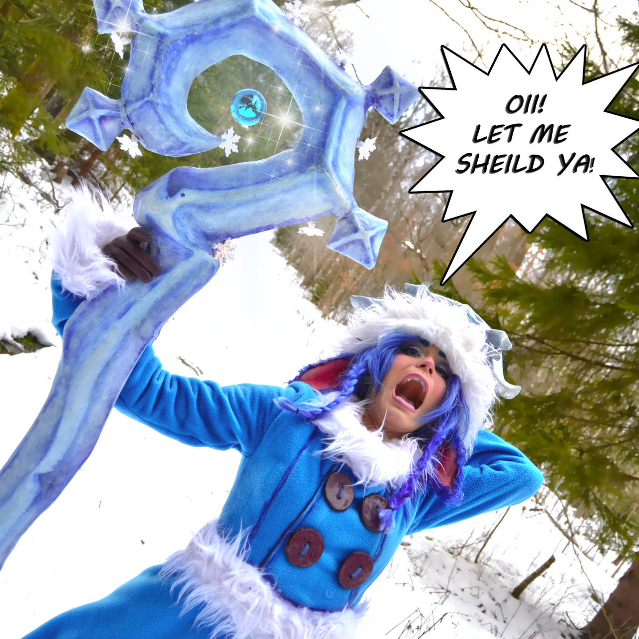 Winter wonder Lulu Cosplay by Nimdra by Nimdra on DeviantArt