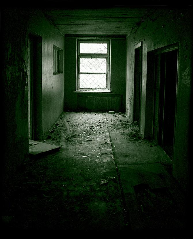 asylum hallway by recreatedplaces