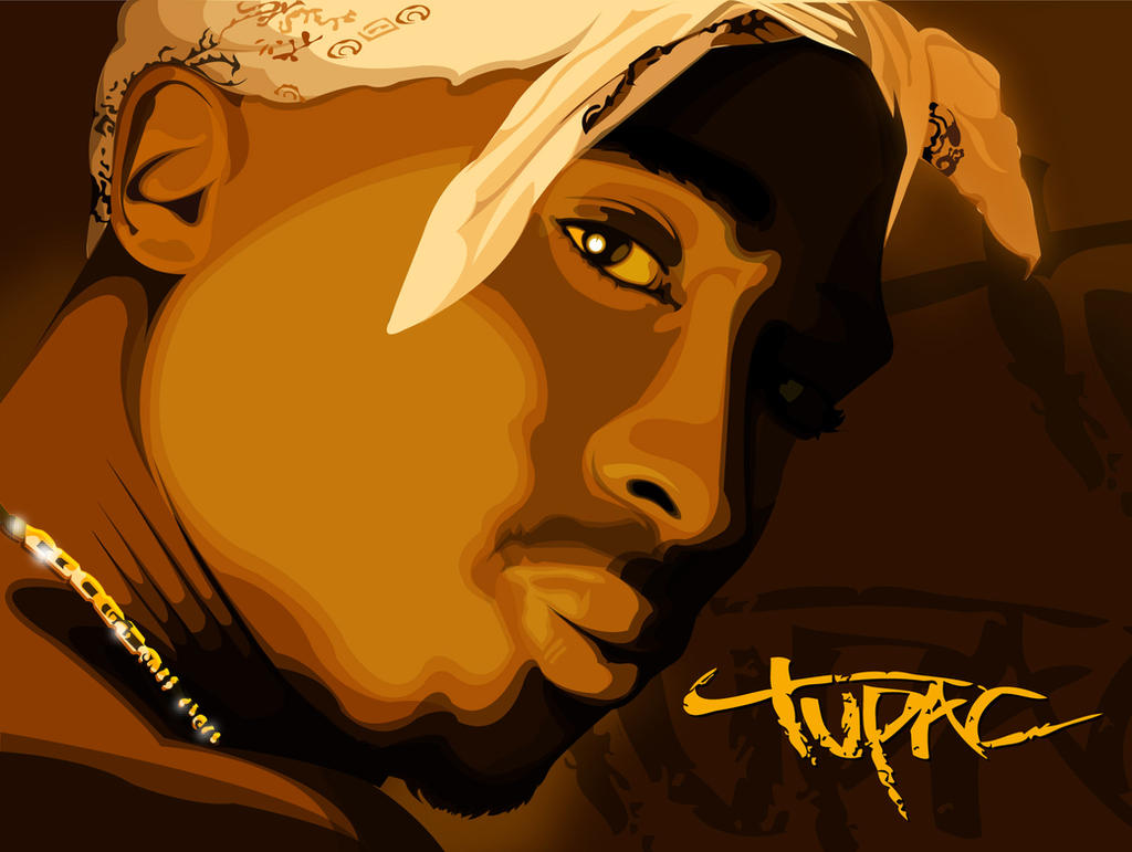 2Pac by iamgraphik