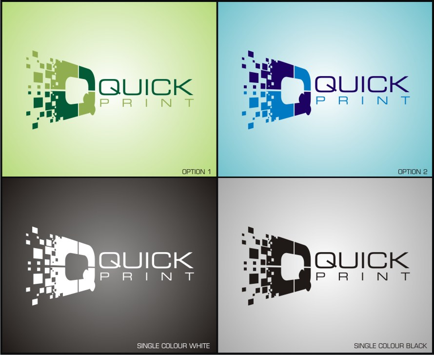 quick print logo by iamgraphik on DeviantArt