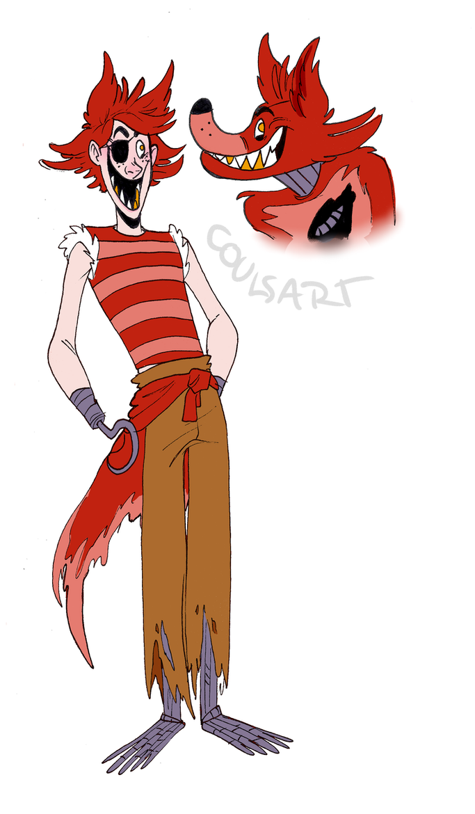 Human foxy by coulrophiliacs on deviantart