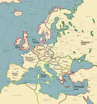 The European Continent in the Year 1928 A.D.