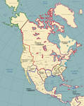 The North American Continent in 1928 A.D. v2