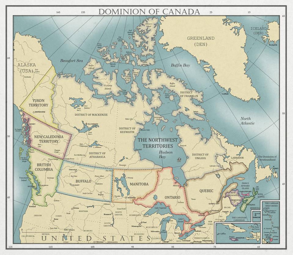 The Dominion of Canada, ca. 1930