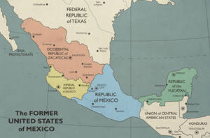 The Former United Mexican States by SPARTAN-127