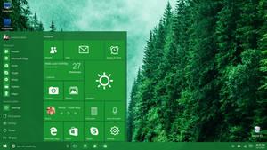 Windows 10 (final build) Redesigned Start Menu