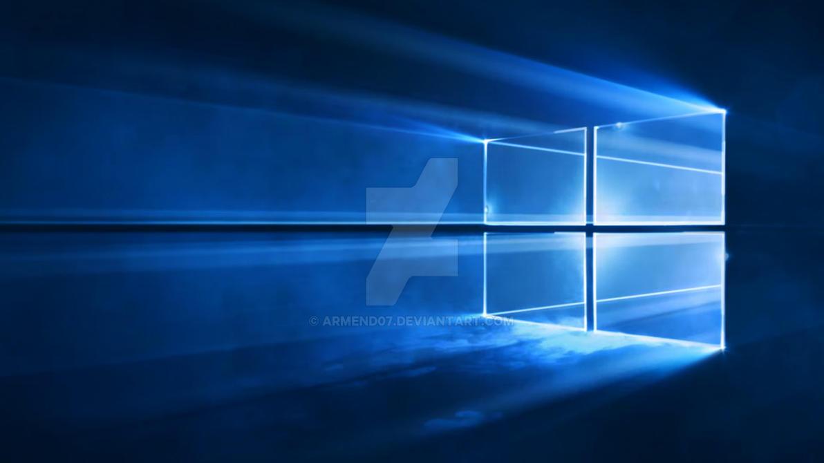 Windows 10 New Hero Desktop Official Wallpaper By Armend07 On Deviantart