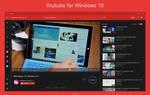Youtube app For Windows 10 Dark Theme Concept