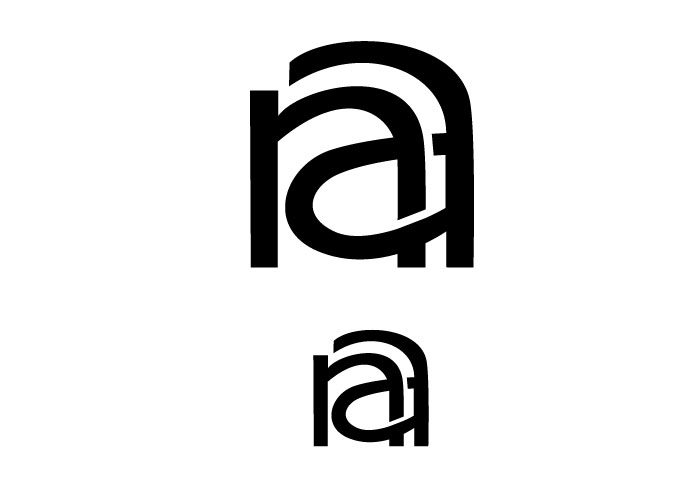 Monogram lowercase na by CallicaParis