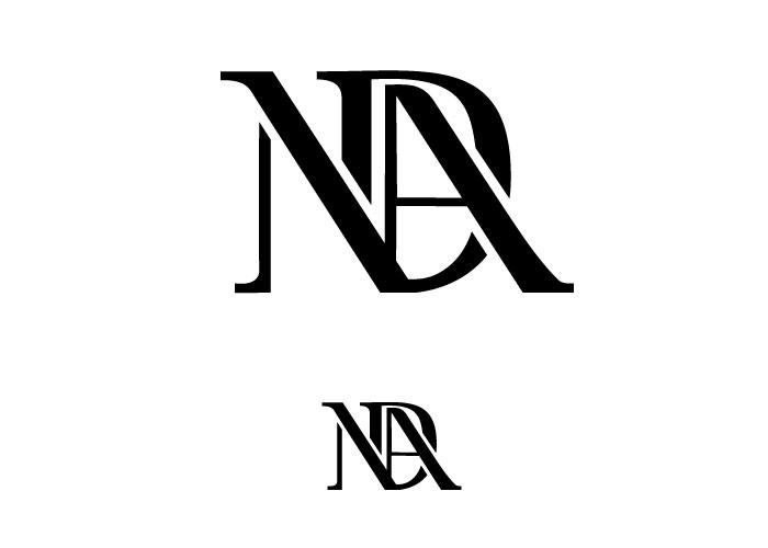 Monogram uppercase na by CallicaParis