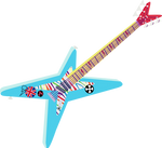 Rainbow Dash Guitar