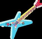 Rainbow Dash Guitar