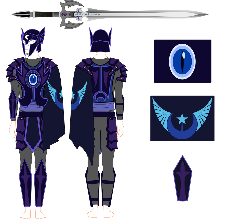 MLP Nightguard Cosplay by BlueThunder66