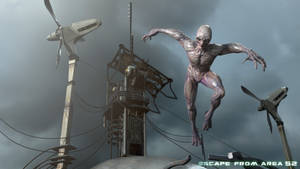 Escape from area 52 shot 3 by strajky
