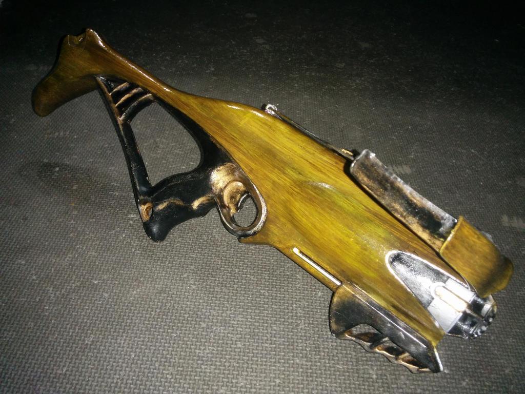 Nerf Mod: Rebelle Guardian 'wooden' Crossbow by Haazardous