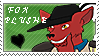 fox plushe 5 win example stamp by scarlettie90