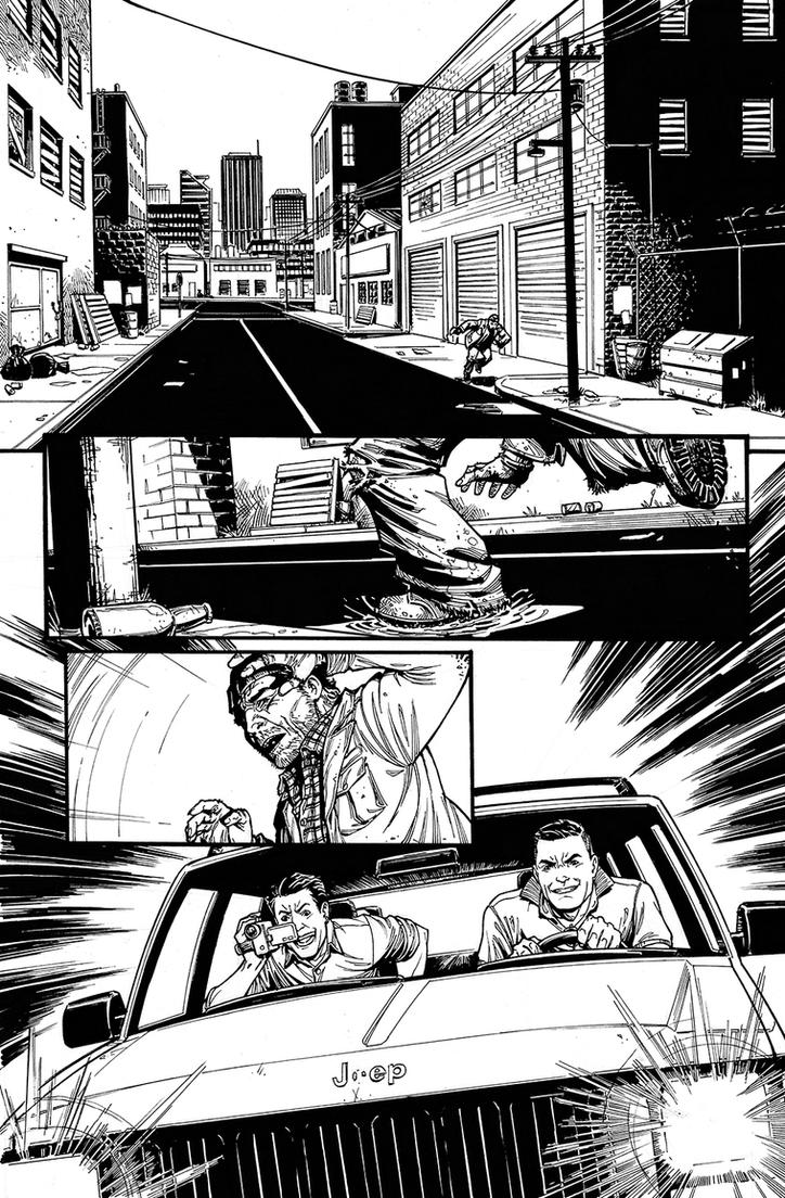 Ghost Deadly Game Sample Page 1 by frvn-art