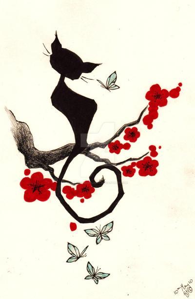 cherry cat