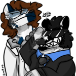 Derp #72 - Canuka's Alzema and Enjolras by TheLavaWolf