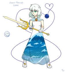 Ocean Princess Koishi by KrackoCloud