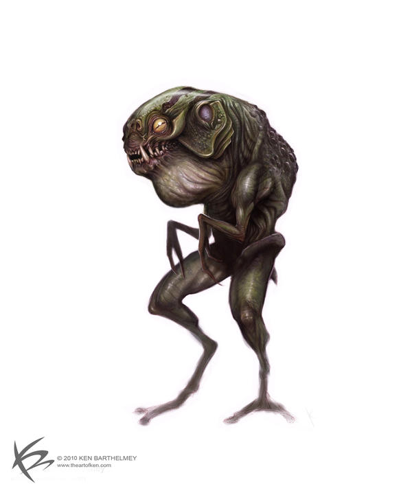 FROG-MAN by KENBARTHELMEY