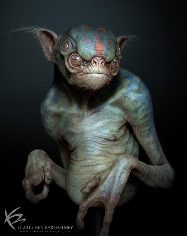 Alien Creature by KENBARTHELMEY