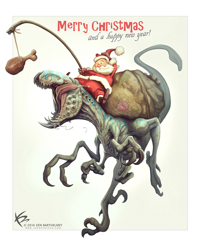Merry Christmas! by KENBARTHELMEY