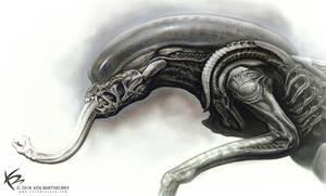 Alien Hybrit Design by KENBARTHELMEY