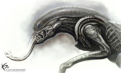 Alien Hybrit Design