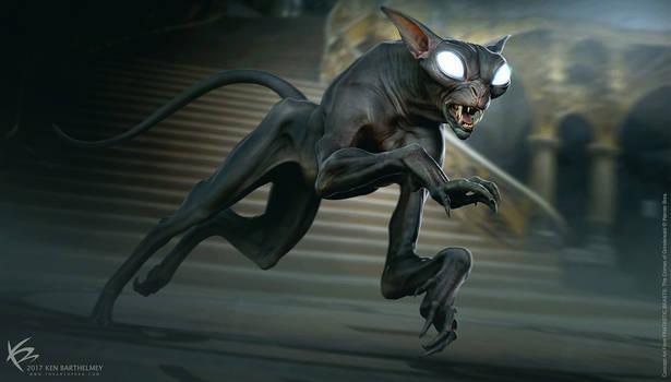 Fantastic Beasts - MATAGOT Creature Design