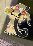 Mimikyu and Comfey, Fairy friends