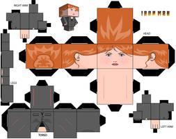 Pepper Potts Cubeecraft by MGTTrailers