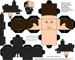 Phil Coulson Cubeecraft by MGTTrailers