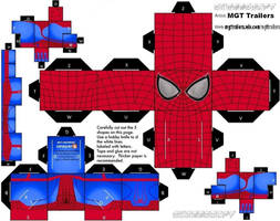 Cubeecraft The Amazing Spider-man 2 by MGTTrailers