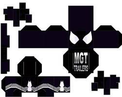 Spiderman Black Cubeecraft by MGTTrailers