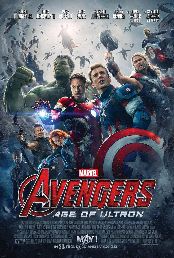 Marvel's Avengers Age Of Ultron Official Poster by ...